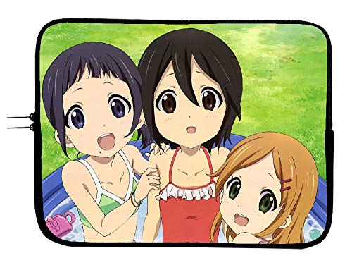 Kokoro Connect Manga Laptop Sleeve Bag - 13 Inch Anime Laptop & Tablet Sleeve Bag Case - Protect Your Notebook Mac Book Pro MacBook Air iPad or Windows Devices in Style!