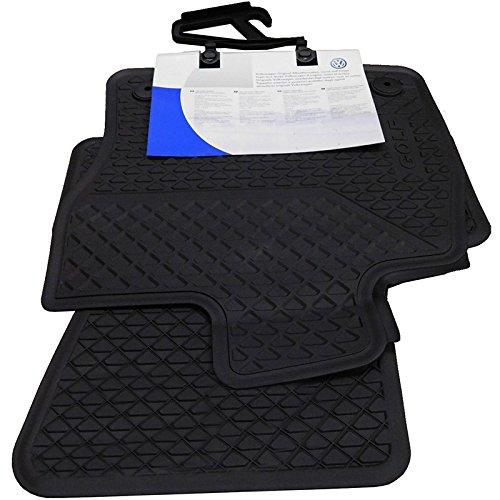 Volkswagen 5G1061500A82V Ersatzteile Gummi Fußmatten