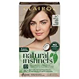 Clairol Natural Instincts Semi-Permanent Hair Dye, 6C Light Brown Hair Color, 1 Count