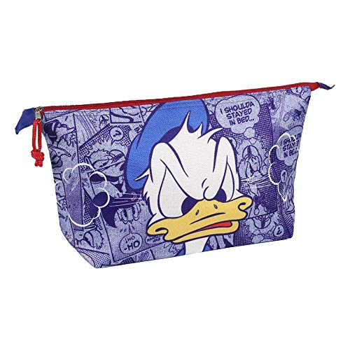 ARTESANIA CERDA Neceser Set Aseo/Viaje Disney Donald Azul