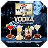EDLE TROPFEN IN NUSS - VODKA LOUNGE (100 g / 4 Vodka - Cocktail Spezialitäten) ALKOHOL PRALINEN