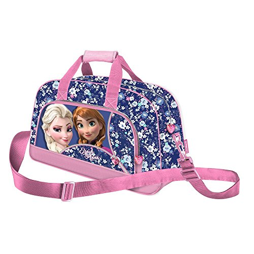 Frozen Zipper Kinder-Sporttasche, 45 cm, Rosa