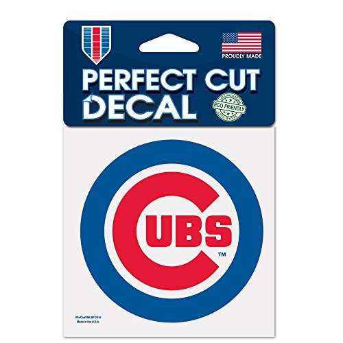 Chicago Cubs Official MLB 4' x 4' Decal