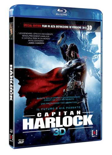 Capitan Space Pirate Captain HarlockCapitan Harlock [Blu-Ray 3D] [Import]