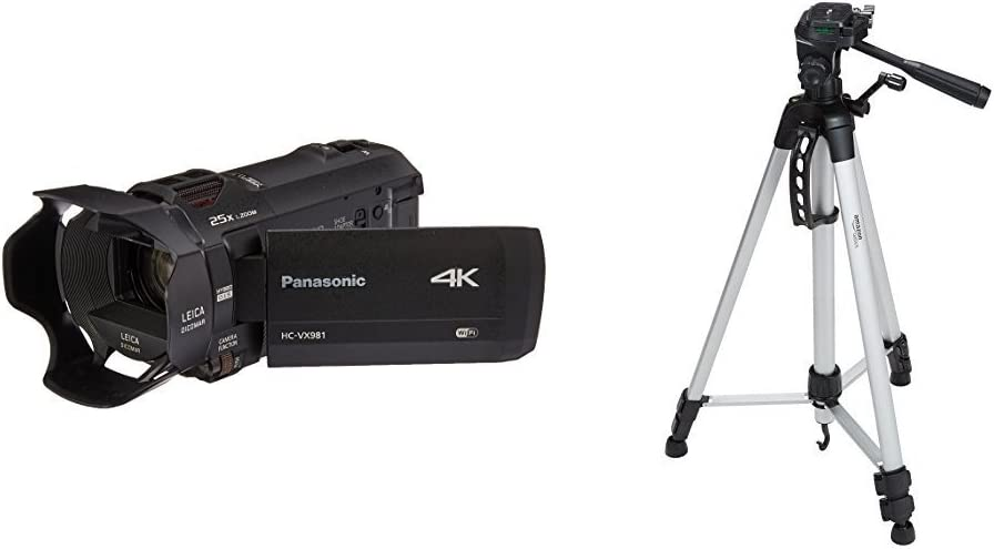 Approx 5 H Panasonic HDC-TM700K Camcorder Tripod Folding Table-Top Tripod for Compact Digital Cameras and Camcorders