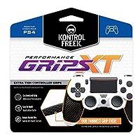 KontrolFreek パフォーマンスグリップ プレイステーション4 (PS4) コントローラー用 ブラック Extra-Thin (XT) XT-4777-PS4