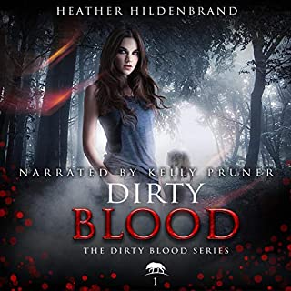 Dirty Blood audiobook cover art