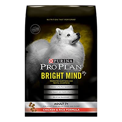 Purina Pro Plan Senior Dry Dog Food, BRIGHT MIND Chicken & Rice Formula - 16 lb. Bag