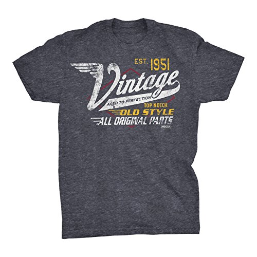 70th Birthday Gift T-Shirt - Vintage 1950 Aged to Perfection - Racing-Dk....