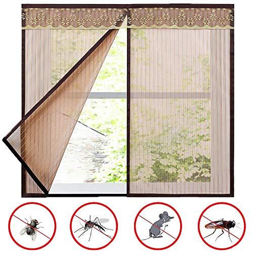 Doors Mosquitera Ventana Magnetica Ajustable, Pegajoso Cortina, Sin PunzóN, Anti Mosquitos, para...