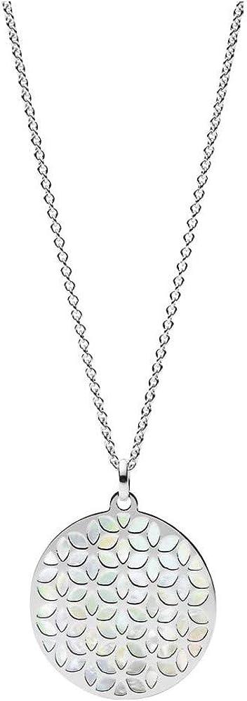 Fossil, collana con ciondolo da donna,in  argento 925 JFS00464040