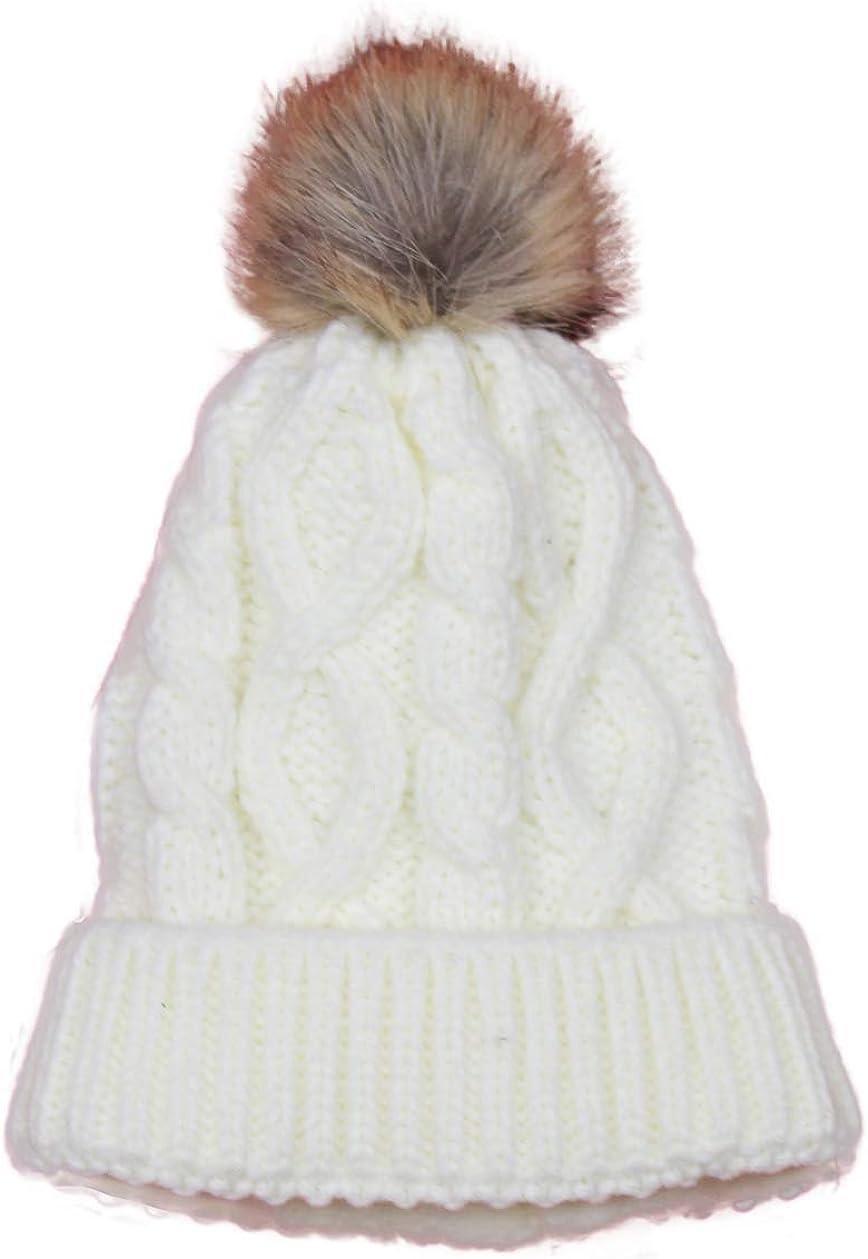 Bienzoe Girls trust Kids Winter Warm Soft 67% OFF of fixed price Knit Hat