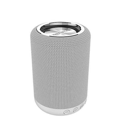 Yi-xir Fashion Design H34 Impermeable Fuera de Minifalda portátil estéreo Bluetooth Altavoz de paño Regalo Wireless Portable Travel (Color : F, Size : 88.2 * 134.6mm)