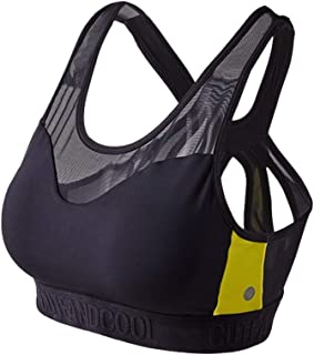 Yoga Bra Mesh Stitching Hollow Back Shockproof Vest Quick-drying Women's Sports Bras