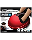 5 LEVELS OF MASSAGE INTENSITY MODES: To increase versatility, the uComfy Shiatsu Oval Foot Massager has five different intensity settings, ensuring you get a comforting massage rather than a painful one. The graduated intensity settings also allow yo...