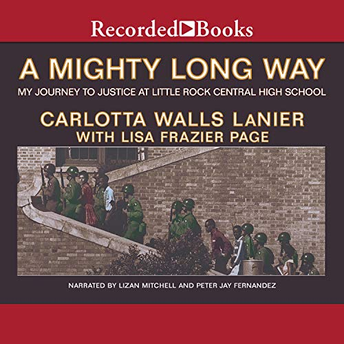 A Mighty Long Way audiobook cover art