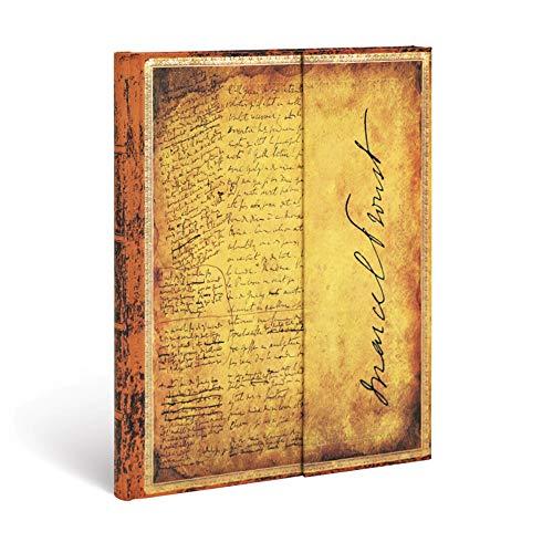 Paperblanks Diari a Copertina Rigida Proust, Alla Ricerca del Tempo Perduto | Righe | Ultra (180 × 230 mm)