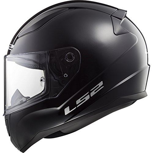 LS2 Casque moto RAPID Noir, Noir, S