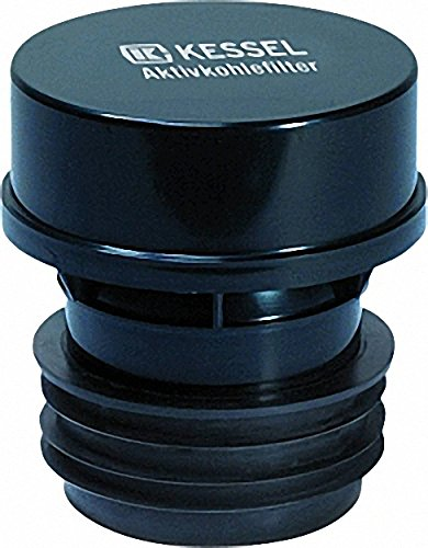 KESSEL -Aktivkohlefilter aus Kunststoff (ABS)- mit auswechsel- barer Kartusche DN70-DN100