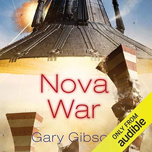 Nova War audiobook cover art