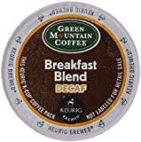 Keurig, Green Mountain Coffee, Breakfast Blend Decaf, K-cup Counts, 50 Count