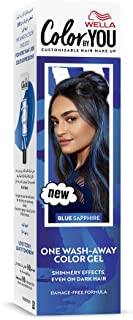 Wella Color by You One Wash-Away Hair Color Gel Blue Sapphire - 35 ml