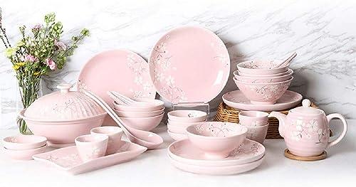 WJP Ménagère, Assiette Creuse personnalisée en céramique (Service pour 6 Personnes)