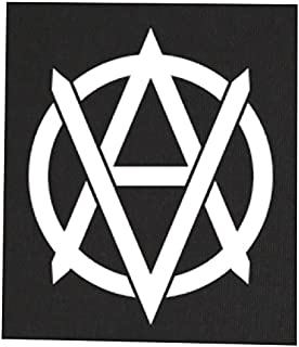 8c3c01b543 Vegan Anarchist Back Patch - Vegetarian Animal Rights Liberation Front Activism  Anarchism Anarcho Anarchy Earth Welfare