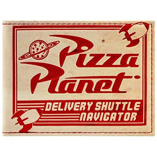 Cartera de Toy Story Pizza Planet Efecto Desgastado Multicolor