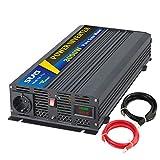 SUG 3000w (picco 6000w) inverter onda pura 12v 220v trasformatore di potenza con display a led