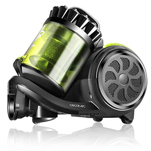 Cecotec Aspirador Trineo Conga Powerciclonic. Aspirador sin Bolsa Potente, Tecnología multiciclónica, Filtro...
