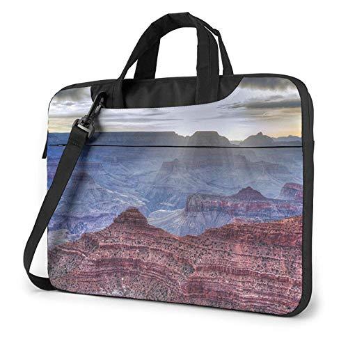 Grand Canyon Funda para portátil de 14 Pulgadas, Elegante y Bonito Bolso de Neopreno para portátil