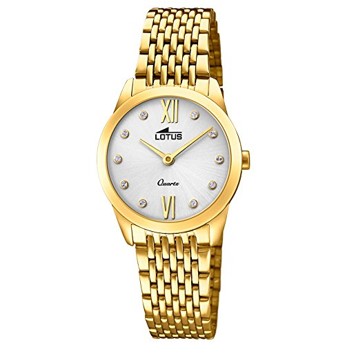 Lotus Minimalist 18477/1 Reloj de Pulsera para mujeres Momento Estelar de Diseño