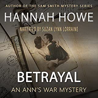 Betrayal: An Ann's War Mystery audiobook cover art
