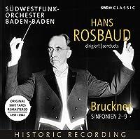 Hans Rosbaud - Bruckner Sinfonien 2-9 (8CD)