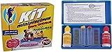 PQS-QUIMICAMP Kit MINIPISCINAS (Cloro+ANTIALGAS) + Test Kit ANALISIS PH Y Cloro QP