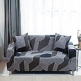 PPMP Funda de sofá elástica Moderna para Sala de Estar, sofá de Esquina seccional, Funda Protectora para Silla, Funda de sofá A8, 4 plazas