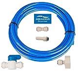 Aqualogis - Set di collegamento filtro acqua (Kit-7) per frigoriferi Whirlpool Hotpoint Ariston stile americano