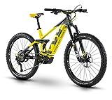 Husqvarna Mountain Cross MC7 27.5'' Pedelec E-Bike MTB grau/gelb 2019: Größe: 40cm