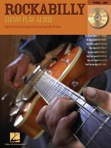 Guitar Play Along ROCKABILLY (+CD) mit Plektrum -- 8 der besten Rockabilly Songs u.a. mit BE-BOP-A-LULA und BLUE SUEDE SHOES für Gesang und Gitarre in Standardnotation und Tabulatur (Noten/sheet music)