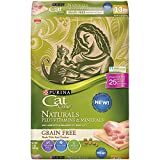 Purina Cat Chow Grain Free, Natural Dry Cat Food, Naturals With Real Chicken -...