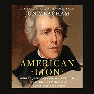 American Lion audiobook cover art