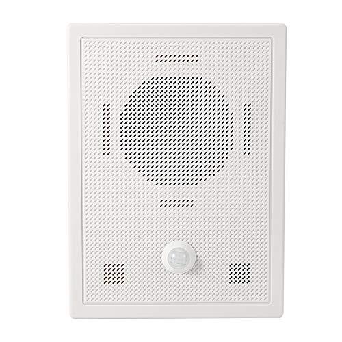 Timbre de la puerta, timbre de bienvenida inalámbrico antirrobo con seguridad del sensor, para el hogar del hotel(European regulations)