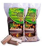 Comfort Woodfuels Ready to Burn Kiln Dried Birch Logs (X2 Bags)