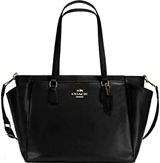 coach leather diaper bags