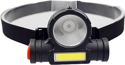 XINGTAO Hoofd Zaklamp USB Oplaadbare Draagbare Mini Zaklamp Lantaarn Q5+COB LED Koplamp + 1 * Ingebouwde 18650 Batterij Ou...
