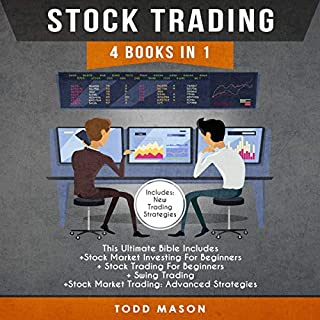 Stock Trading: 4 Books in 1 audiobook cover art