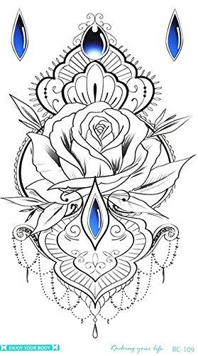 Bracelet Tatouage Tattoo Seins Under Flash Tattoo Noir bc109