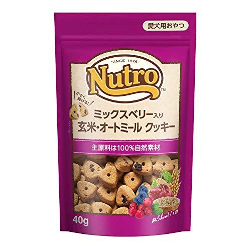 ニュートロ ミックスベリー入り 玄米・オートミール クッキー 40g