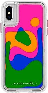 Case-Mate - iPhone X Case - Lava LAMP - Dynamic Flowing Colors - Protective Design - Apple iPhone 10 - Lava LAMP